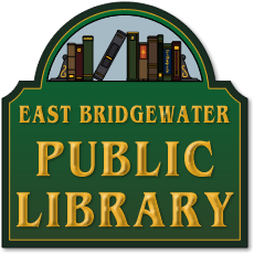East Bridgewater Public Library Sticky Logo